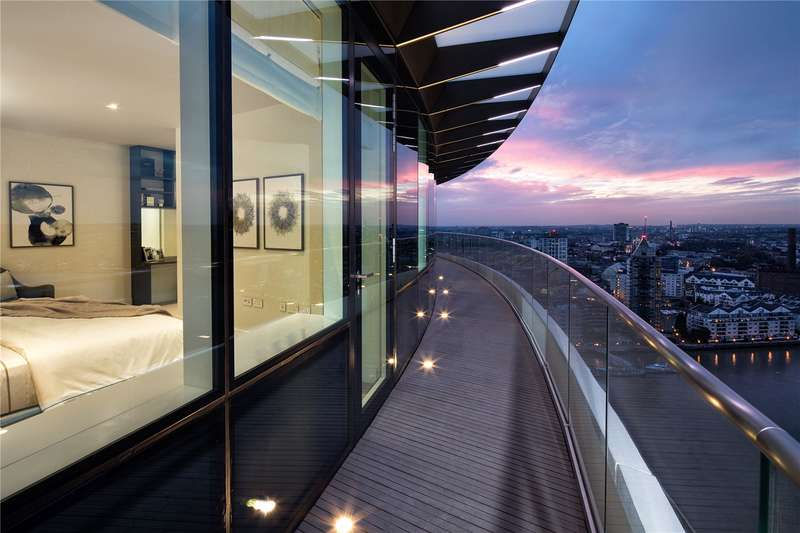 3 Bedrooms Flat for sale in Lombard Wharf, 12 Lombard Road, SW11