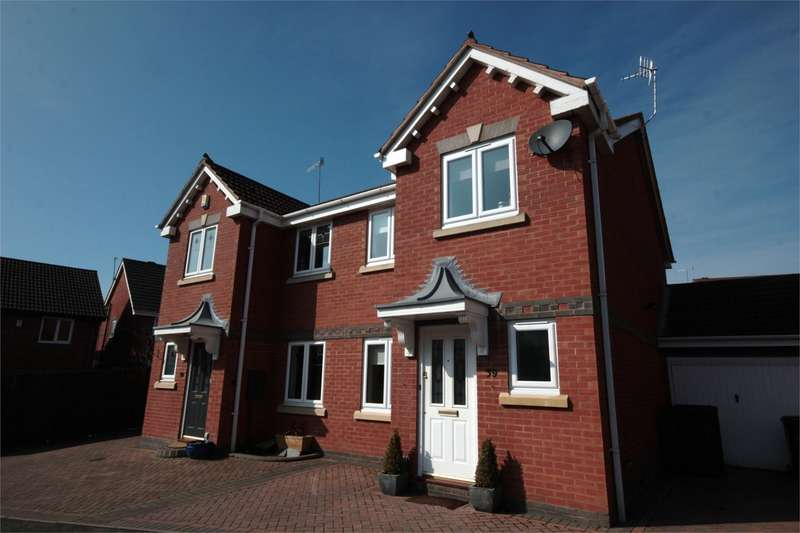 3 Bedrooms Semi Detached House for sale in Peninsula Road, Norton, Worcester, WR5