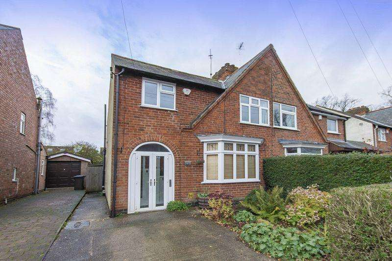 3 Bedrooms Semi Detached House for sale in BANK VIEW ROAD, DARLEY ABBEY, DERBY
