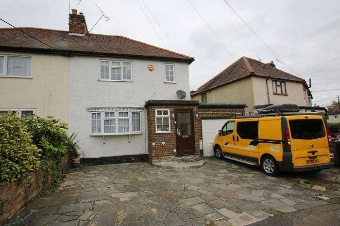 3 Bedrooms Semi Detached House for sale in Rodney Road, Ongar, Essex CM5