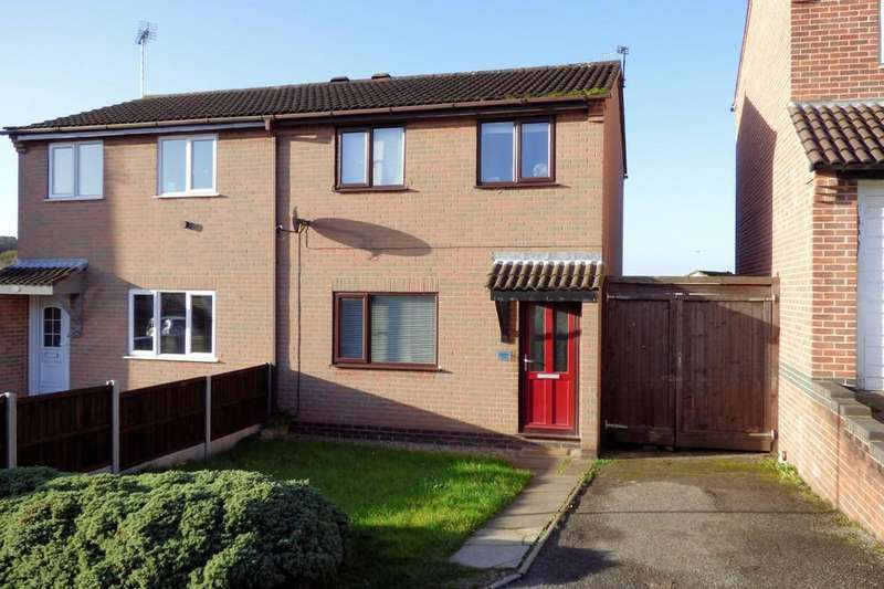 3 Bedrooms Semi Detached House for sale in Meynell Close, Burton-on-Trent