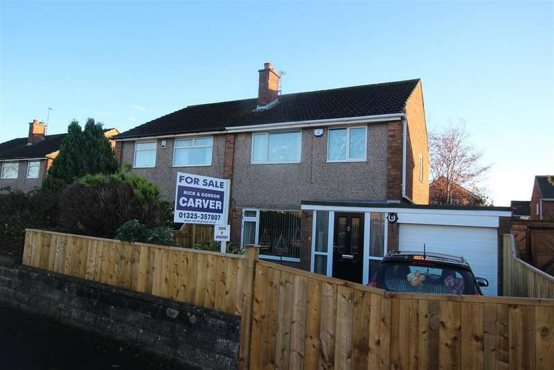 3 Bedrooms Semi Detached House for sale in Heron Drive, Darlington