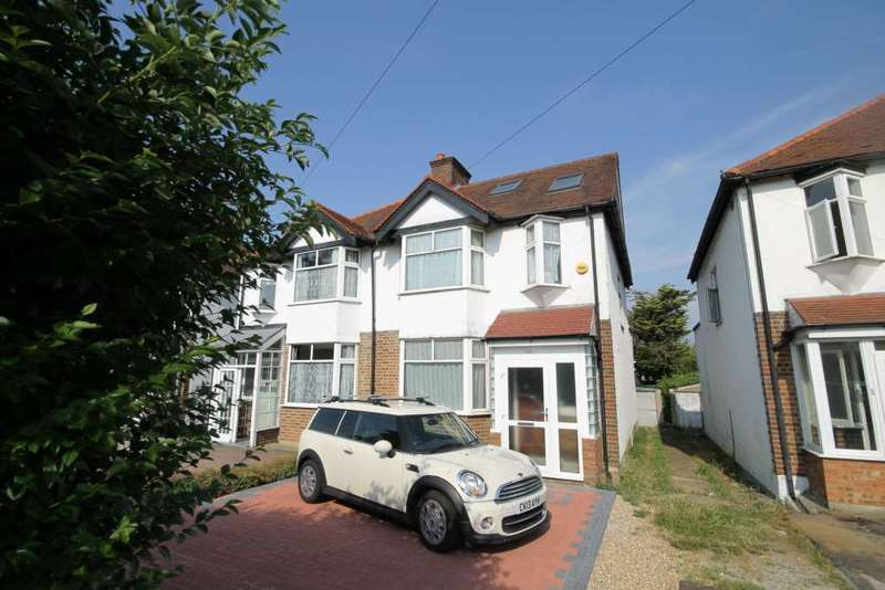 4 Bedrooms Semi Detached House for rent in Sutton Common Road, Sutton