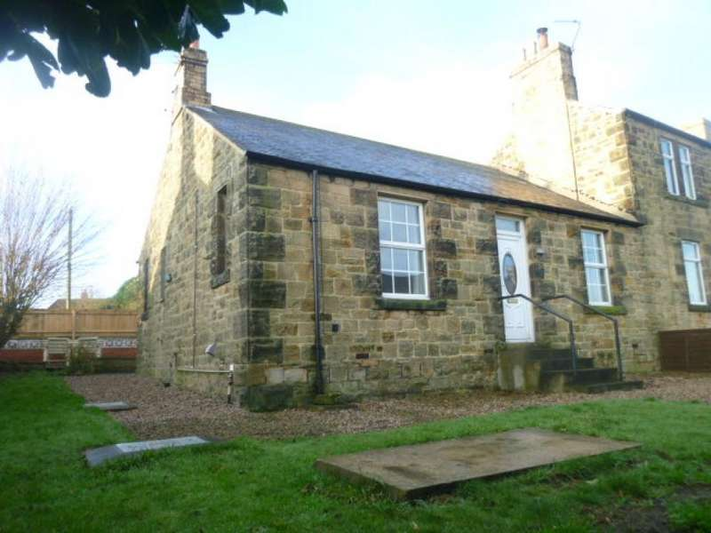 2 Bedrooms Terraced Bungalow for rent in Hawthorn Terrace, Shilbottle, Northumberland, NE66