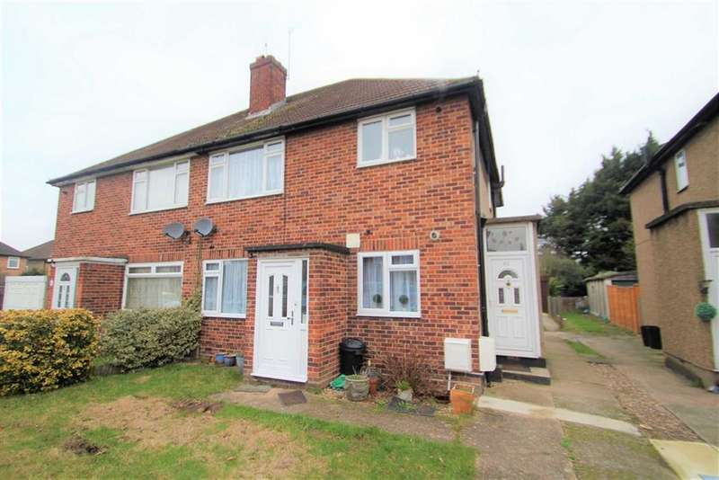 2 Bedrooms Maisonette Flat for sale in Daleham Drive, Hillingdon, Middlesex