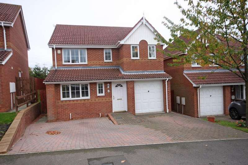 4 Bedrooms Detached House for sale in Edgewood Court, Sacriston, Durham DH7 6XH