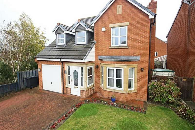 4 Bedrooms Detached House for sale in Cedar Drive, Jarrow, Tyne And Wear