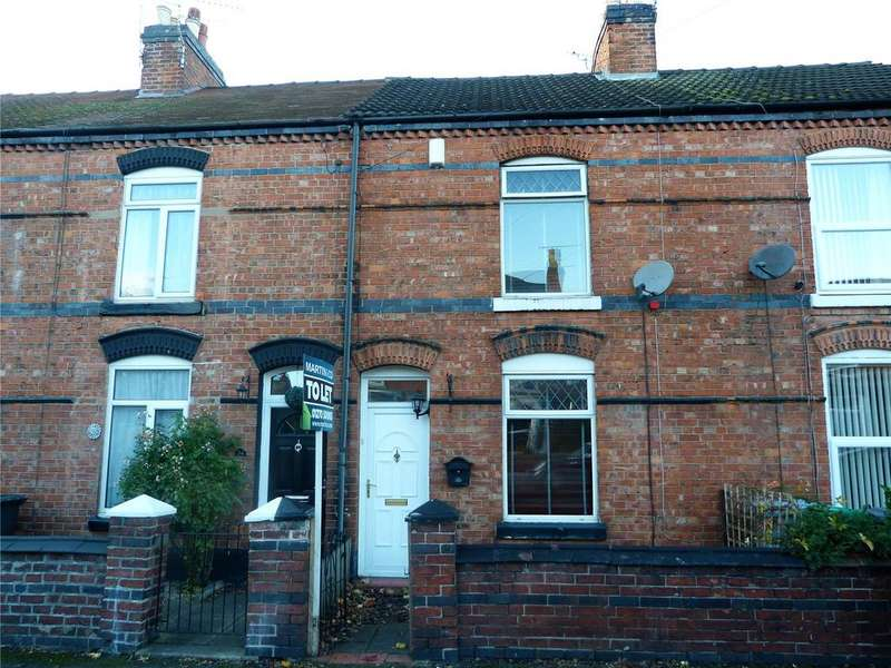 2 Bedrooms Terraced House for sale in Hungerford Avenue, Crewe, Cheshire, CW1