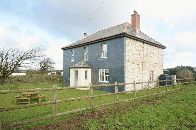 5 Bedrooms Detached House for sale in Hendraburnick, Camelford