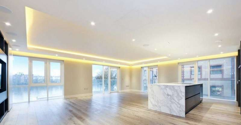 3 Bedrooms Apartment Flat for sale in Distillery Wharf, Fulham Reach, Fulham, London, W6