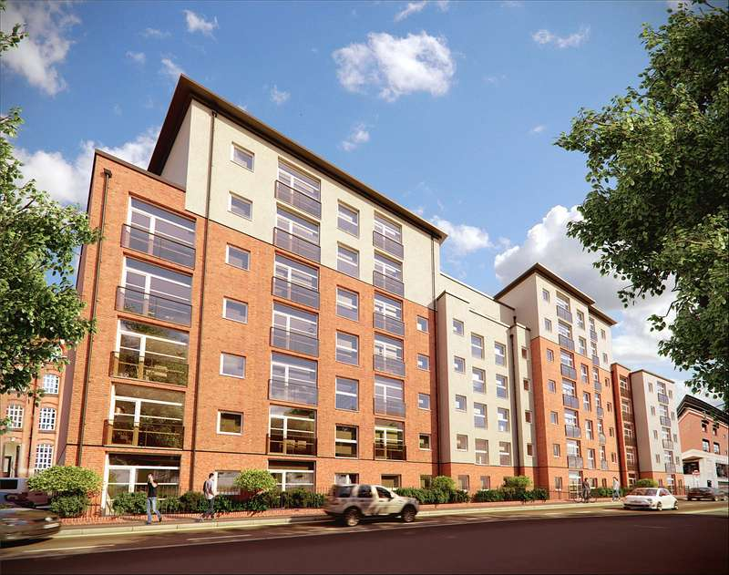 2 Bedrooms Apartment Flat for sale in Aria Apartments, Chatham Street, Leicester, LE1