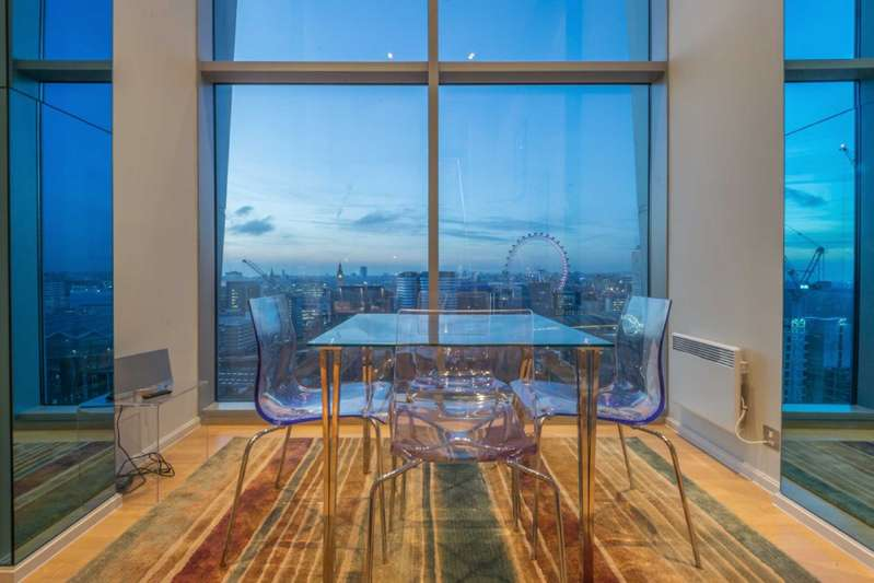 3 Bedrooms Apartment Flat for sale in Perspective, 100 Westminster Bridge Road, Waterloo, London, SE1