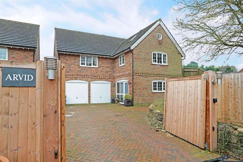 4 Bedrooms Detached House for sale in Cadley Road, Collingbourne Ducis, Marlborough