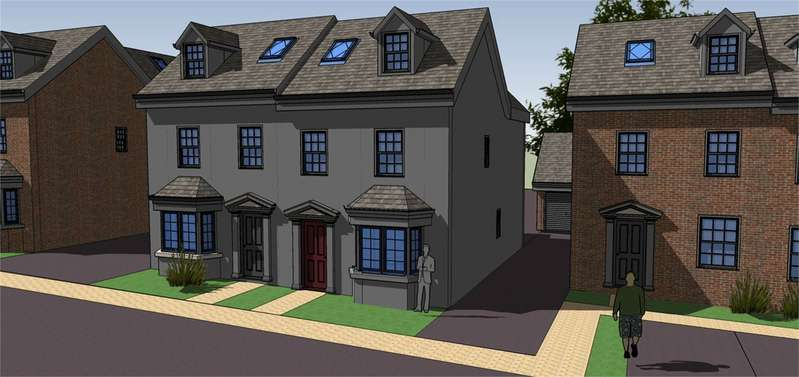 4 Bedrooms Semi Detached House for sale in Plot 4, Rea View, Cleobury Mortimer, Kidderminster, Shropshire, DY14