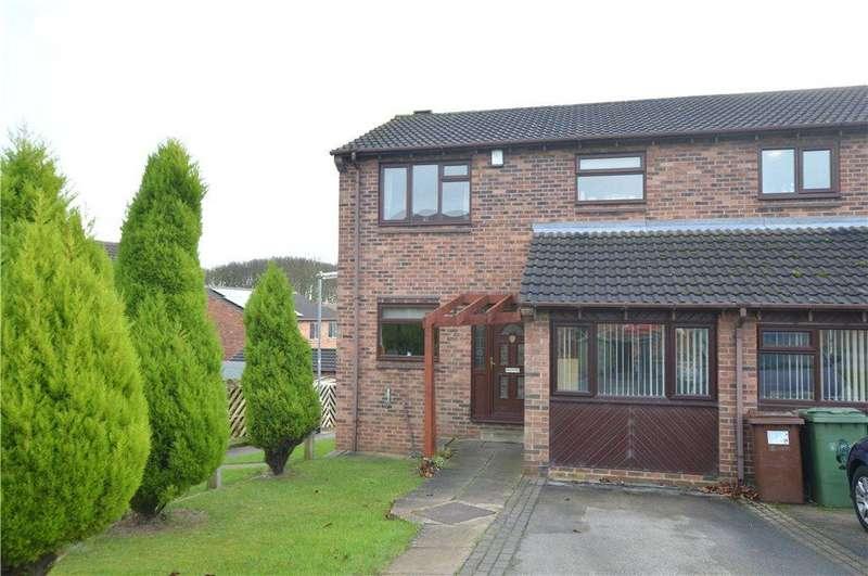 3 Bedrooms Semi Detached House for sale in Woodlands Croft, Kippax, Leeds, West Yorkshire