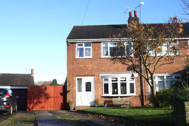 3 Bedrooms Semi Detached House for sale in 28 Brookside, Ashton Hayes, CH3 8BZ