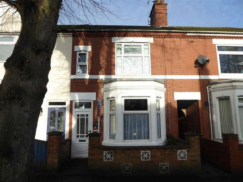 3 Bedrooms Terraced House for sale in Kingsley Avenue, Kettering