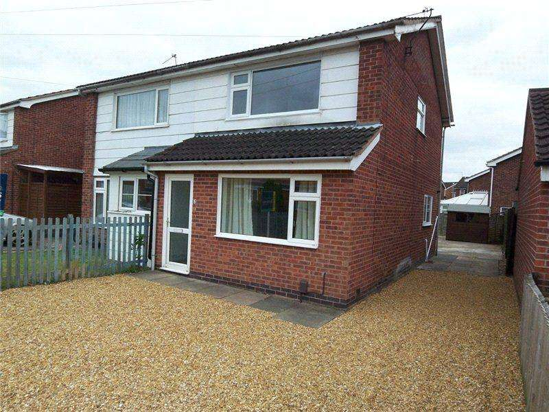 3 Bedrooms Semi Detached House for rent in Solway Close, Melton Mowbray, Leicestershire
