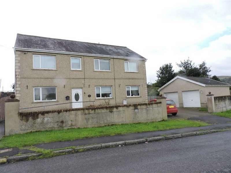 4 Bedrooms Detached House for sale in Twynrefail Place, Gwaun Cae Gurwen