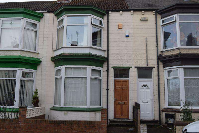 4 Bedrooms Terraced House for sale in Wellesley Road, Middlesbrough