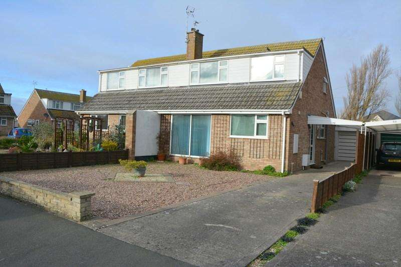 4 Bedrooms Semi Detached House for sale in Maple Drive, Burnham-On-Sea