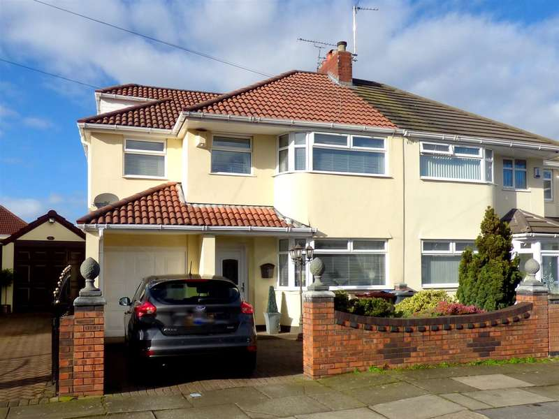 4 Bedrooms Semi Detached House for sale in Coronation Drive, Broadgreen, Liverpool