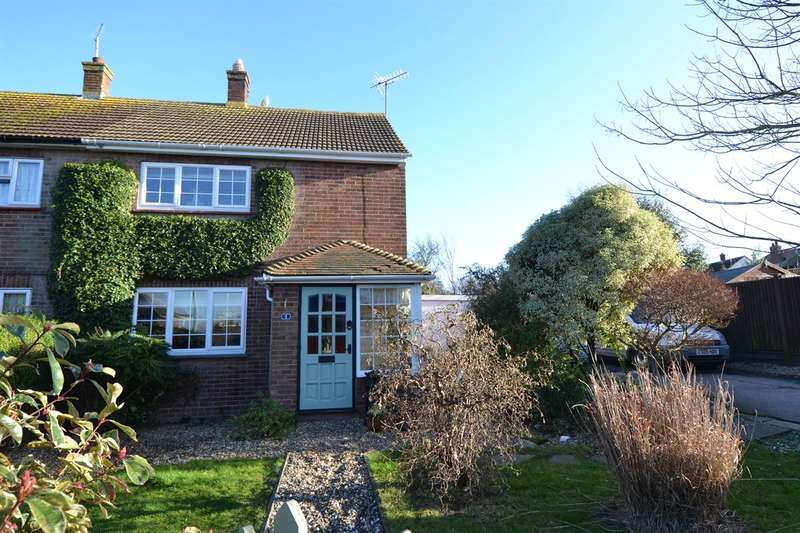 2 Bedrooms Semi Detached House for sale in Deane Close, Whitstable