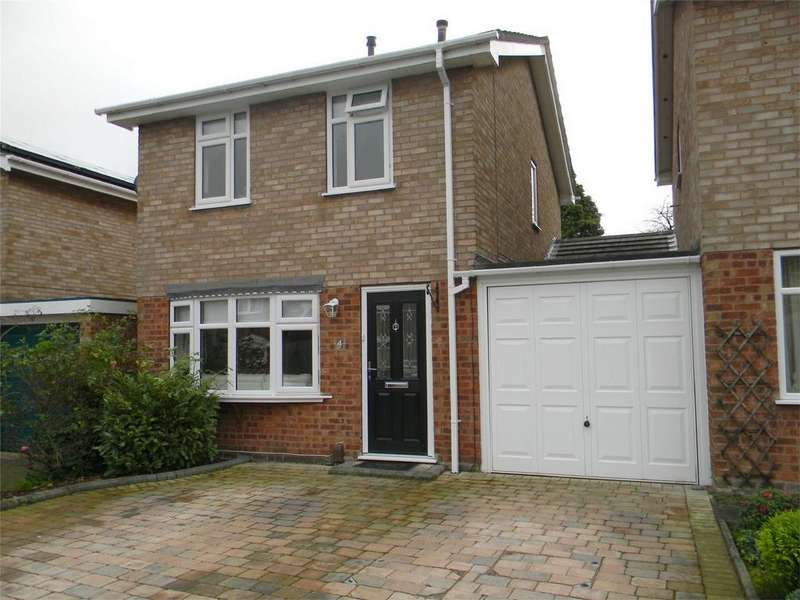 3 Bedrooms Link Detached House for sale in Winchester Close, Lichfield, Staffordshire