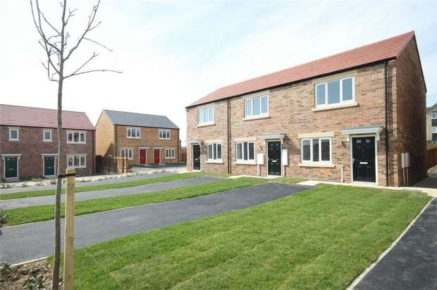 2 Bedrooms Terraced House for sale in The CHAD - Plot 60 *LAST ONE*, Eden Field, Woodham Way, Newton Aycliffe, Durham
