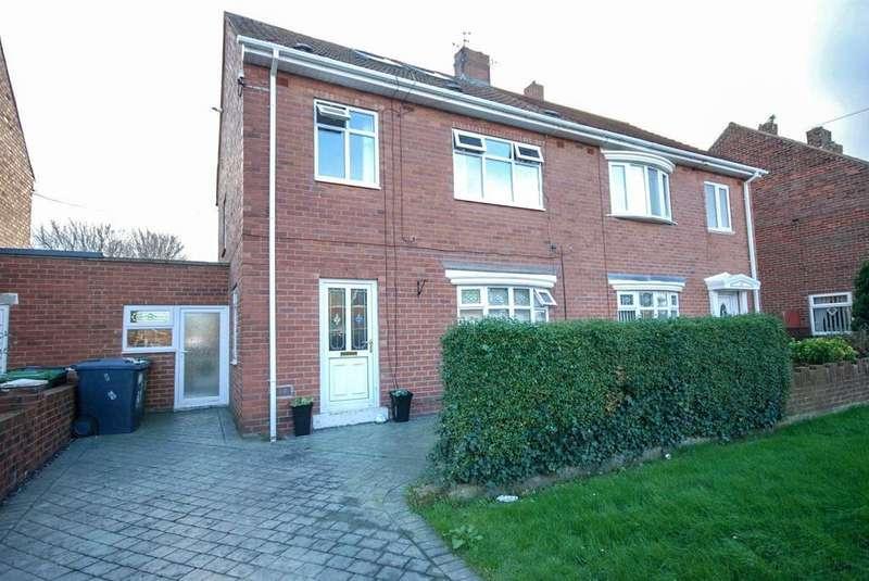4 Bedrooms Semi Detached House for sale in Felton Avenue, South Shields