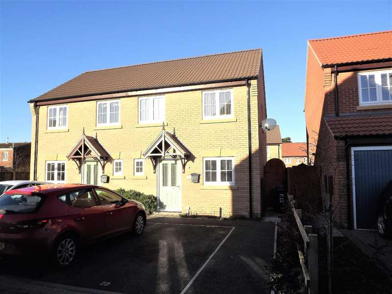3 Bedrooms Semi Detached House for sale in Hamilton Way, Coningsby, Lincoln, LN4 4ZW