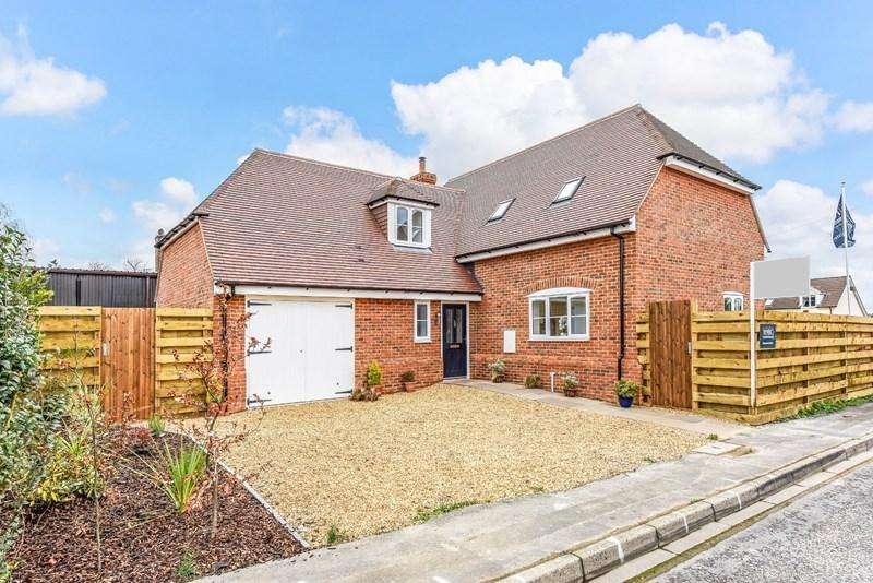 4 Bedrooms Detached House for sale in Beech Close, Penton Harroway, Andover