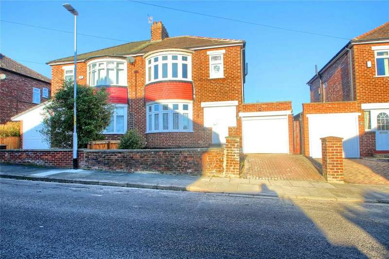 3 Bedrooms Semi Detached House for sale in Kilburn Road, Hartburn