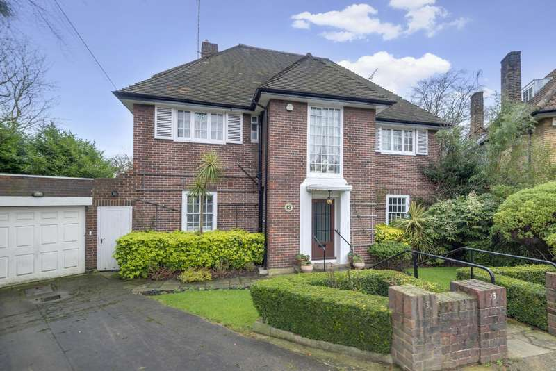 5 Bedrooms Detached House for sale in West Heath Close, Hampstead