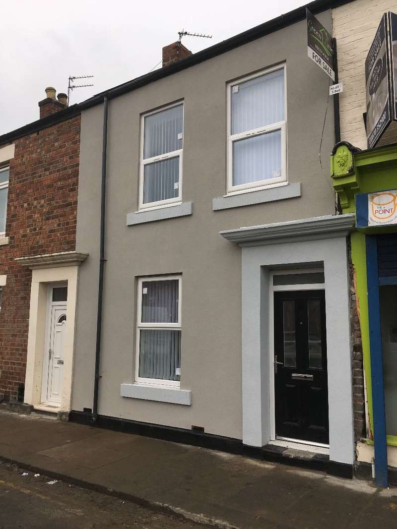 3 Bedrooms Terraced House for sale in Bowes Street, Blyth, NE24 1EB