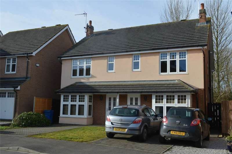 3 Bedrooms Semi Detached House for sale in Rawson Way, HORNSEA, East Riding of Yorkshire