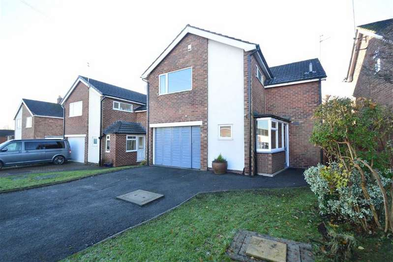 4 Bedrooms Detached House for sale in Rydal Place, Macclesfield