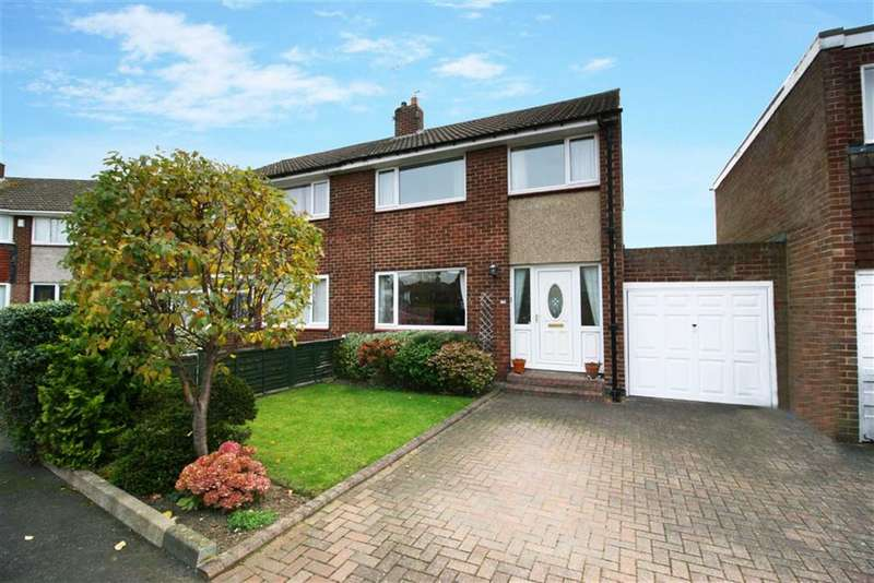 3 Bedrooms Semi Detached House for sale in Pont View, Ponteland, Newcastle Upon Tyne