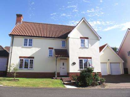 4 Bedrooms Detached House for sale in Hadleigh, Ipswich, Suffolk