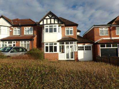 4 Bedrooms Detached House for sale in Quinton Road, Harborne, Birmingham, West Midlands