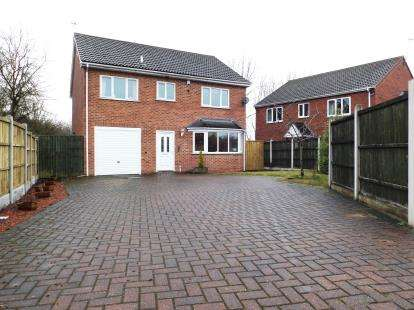 4 Bedrooms Detached House for sale in Heath Road, Heath, Chesterfield, Derbyshire