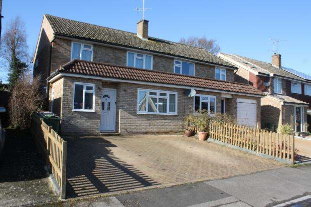 3 Bedrooms Semi Detached House for sale in Ripley, Woking, Surrey