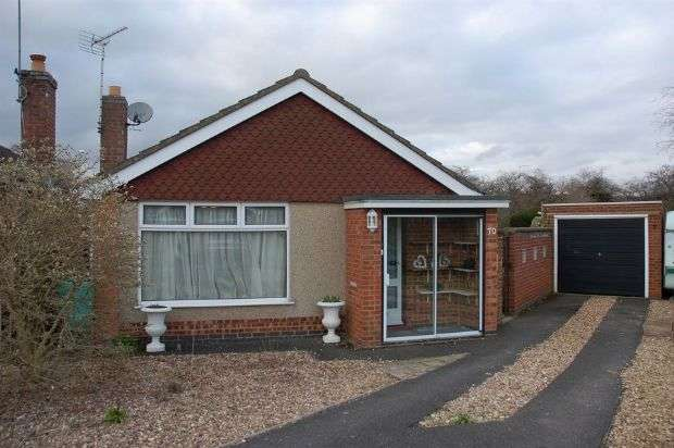 3 Bedrooms Detached Bungalow for sale in Oundle Drive, Moulton, Northampton NN3 7DD
