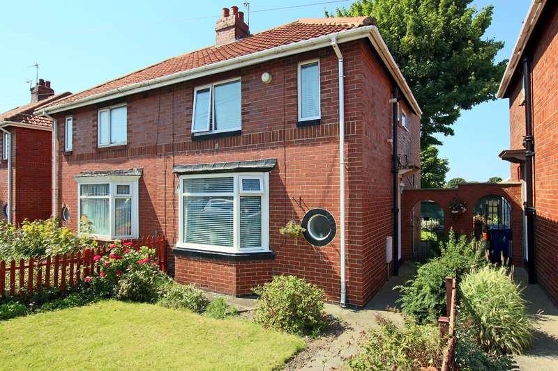 3 Bedrooms Semi Detached House for sale in Harton House Road, South Shields, NE34 6EA