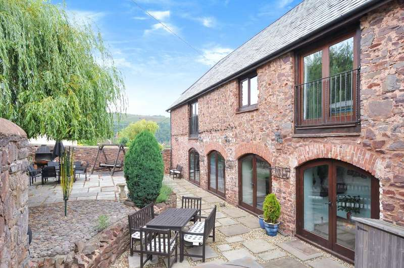 4 Bedrooms Detached House for sale in Periton Lane, Minehead