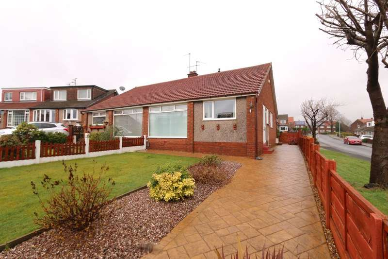 3 Bedrooms Semi Detached Bungalow for sale in Shanklin Close, Denton, Manchester, M34