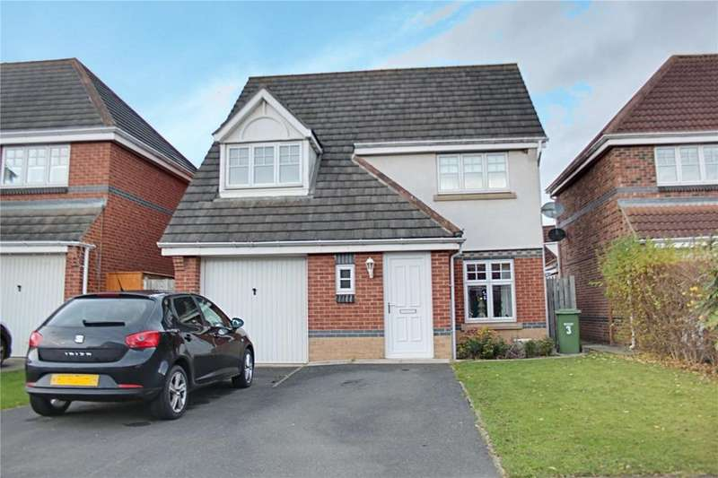 3 Bedrooms Detached House for sale in Grassholme Way, Eaglescliffe