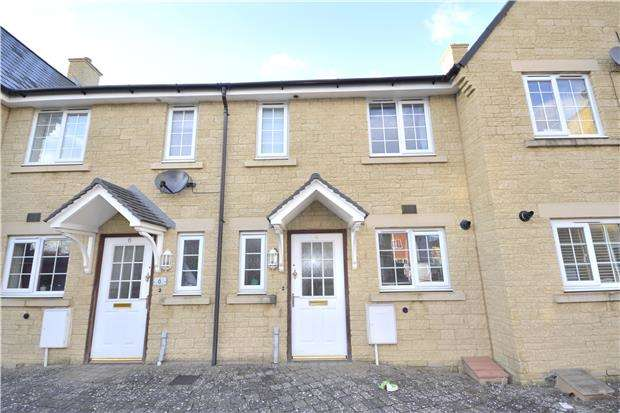 2 Bedrooms Terraced House for sale in Greenacre Way, Bishops Cleeve, GL52