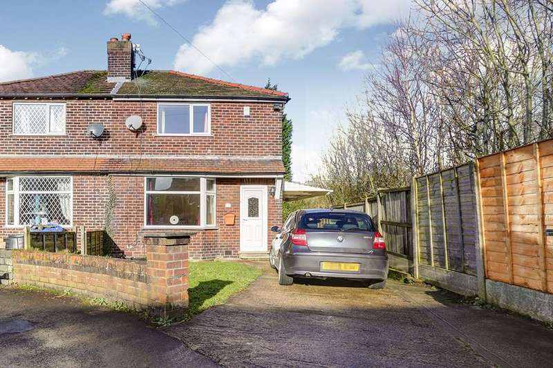 3 Bedrooms Semi Detached House for sale in Rydal Avenue, Hazel Grove, Stockport, SK7