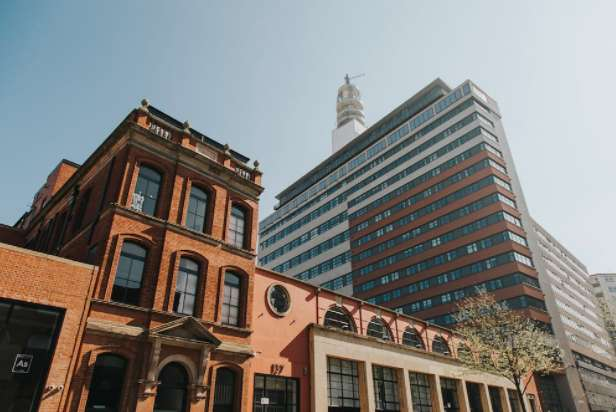 2 Bedrooms Penthouse Flat for rent in Brindley House, Newhall Street, Birmingham B3